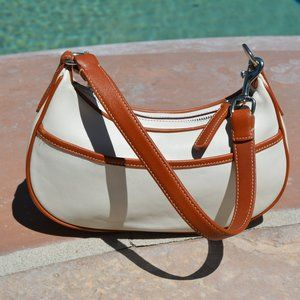 Vintage Coach Leather Hamptons Demi Mini B…